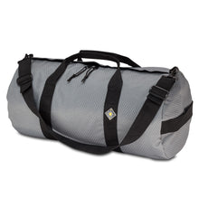 Load image into Gallery viewer, Studio photo the Steel Grey SD1224DLX Standard Duffle by Northstar Bags. 44 liter duffel with diamond ripstop fabric, thick webbing straps, and a large format metal zipper. Guaranteed for life.