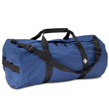 Load image into Gallery viewer, Studio photo the Pacfic Blue SD1430DLX Standard Duffle by Northstar Bags. 75 liter duffel with diamond ripstop fabric, thick webbing straps, and a large format metal zipper. Guaranteed for life.