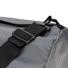 Load image into Gallery viewer, Studio photo the Steel Grey SD1640DLX Standard Duffle by Northstar Bags. 131 liter duffel with diamond ripstop fabric, thick webbing straps, and a large format metal zipper. Guaranteed for life.