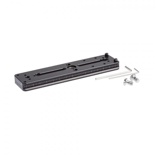 ProMediaGear PX6, 6 Inch Arca-Swiss Type Double Dovetail Plate w/ SS2 Quick Release Adapter Port