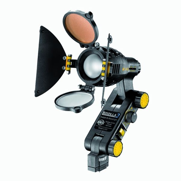 Dedolight Ledzilla2 Daylight Mini On-Camera LED Light Head