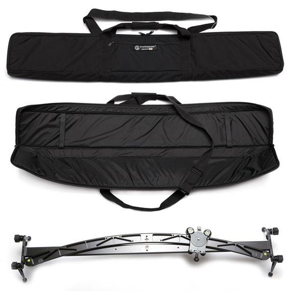"ProMediaGear PMG-DUO 48"" Dual Straight / Curved Manual Video Slider inc. Carrying Case"