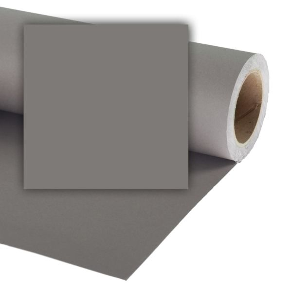 "Colorama 2.72 x 11m (107"" x 36ft) Studio Background Paper Mineral Grey"