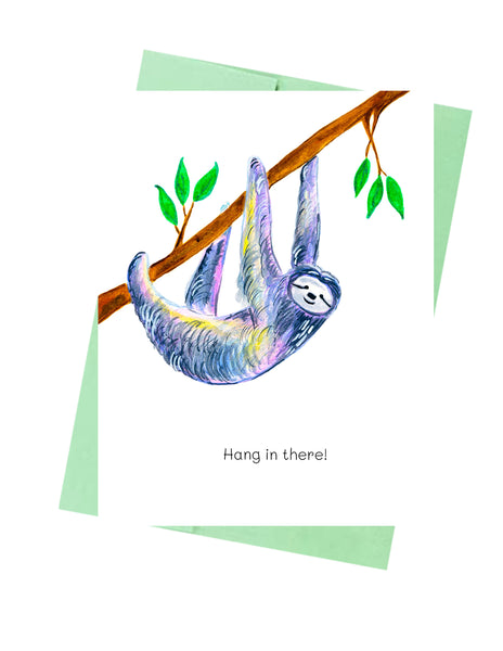 Hang in there Sloth
