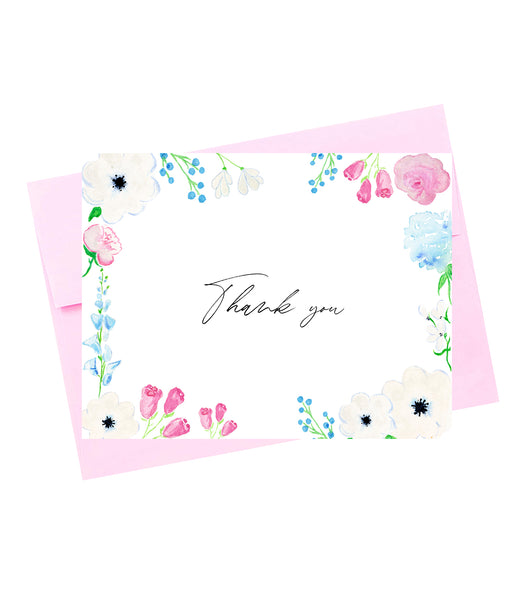 Thank you Colorful Floral 1