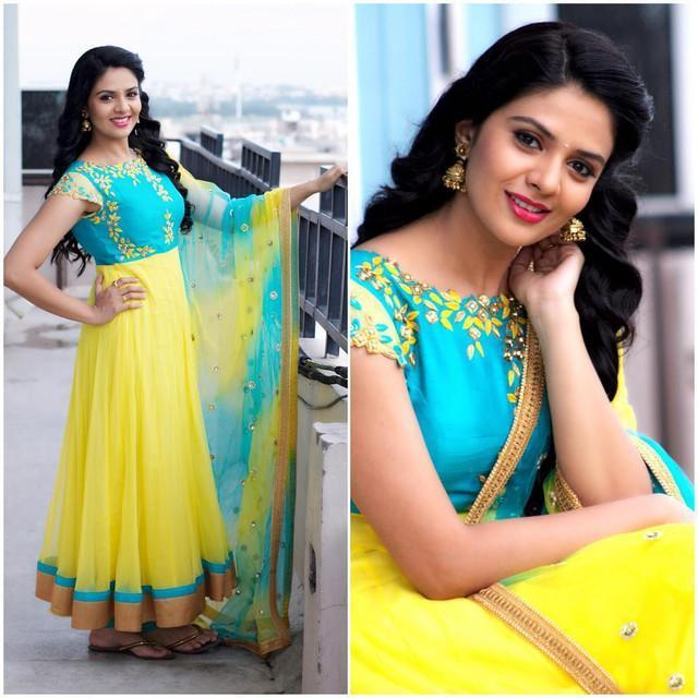 Embroidered Yellow Color Designer Suit