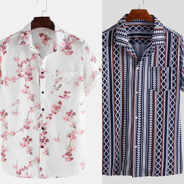 Combo shirts men - Pack of 2 festive wear shirts