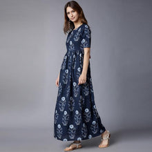 Load image into Gallery viewer, Heavy Rayon Mehendi Color Printed Kurti