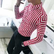 Load image into Gallery viewer, buy men shirts online - Red Color Party Wear Shirt