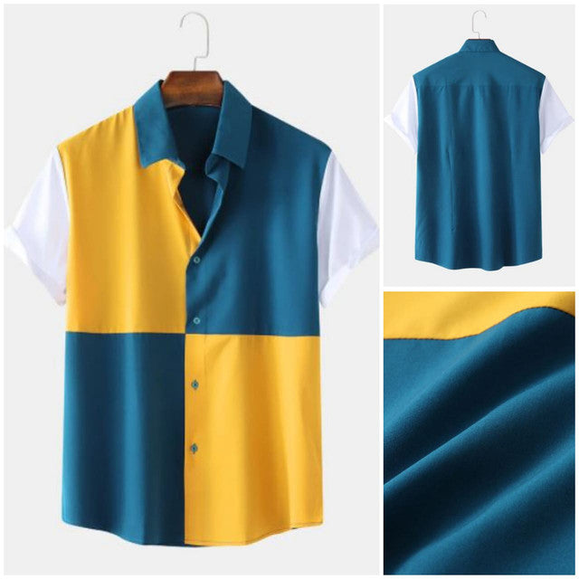 Buy shirts- Multi Color Designer Men Shirt