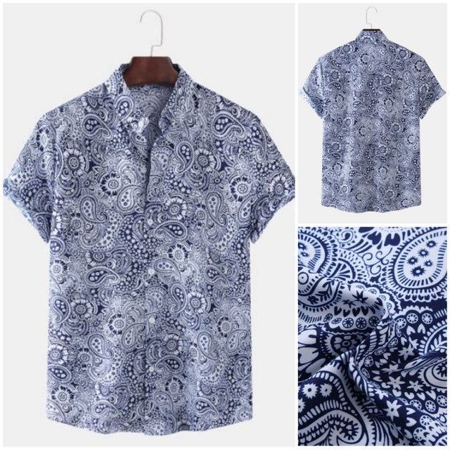 buy mens shirts - Multi Colored Festive Wear Mens Shirts