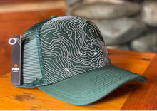 Load image into Gallery viewer, ILL Topo Map Cap - Emerald