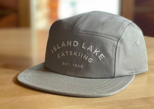 Load image into Gallery viewer, ILL Varsity 5-panel Catskiing Cap - Light Grey