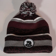 Load image into Gallery viewer, ILL Bear Patch Beanie with Pom