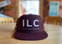 Load image into Gallery viewer, Island Lake Catskiing Acronym Cap - Maroon