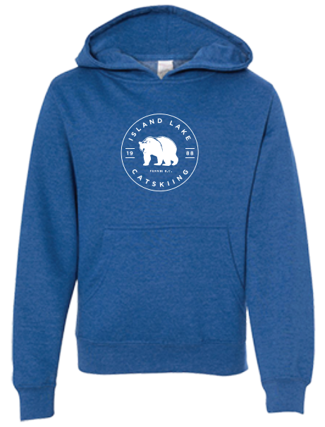 Youth ILL Emblem Hoodie - Royal Heather Blue