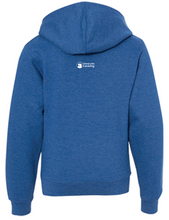 Load image into Gallery viewer, Youth ILL Emblem Hoodie - Royal Heather Blue