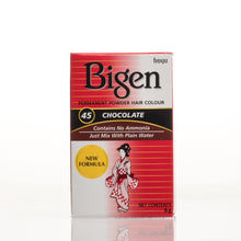 Load image into Gallery viewer, Bigen Powder Permanent Hair Color - 45 - Chocolate