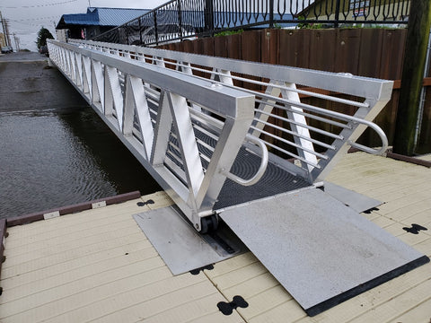 Aluminum Gangways – Commercial – 60 & 100 PSF