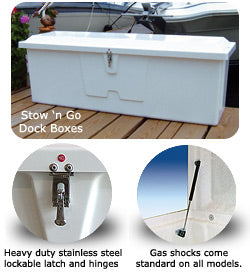 Stow 'n Go Dock Boxes