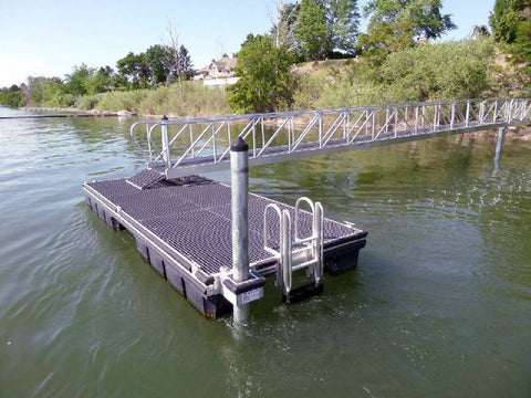 Aluminum Frame Docks by OMC