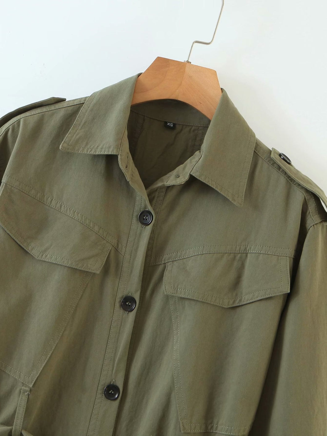 Army Style Trench Jacket