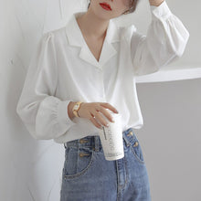 Load image into Gallery viewer, Puff Sleeve Blouse