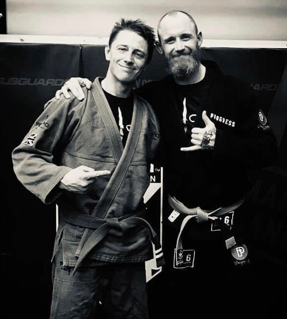 Jiu-jitsu helped me out of a really dark place