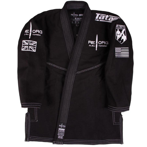 REORG GI Black By Tatami Front Jacket