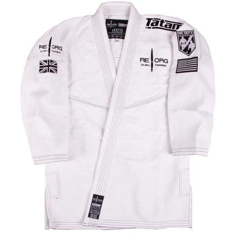 REORG BJJ GI White Jacket