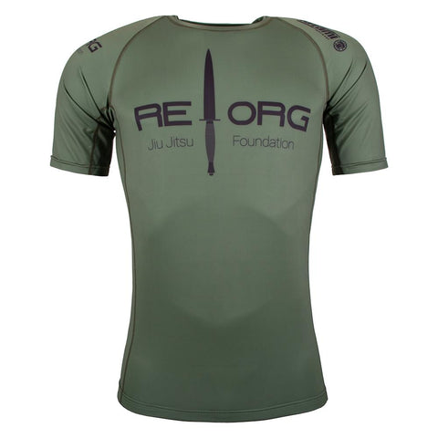 REORG Jungle Short Sleeve Rash Guard