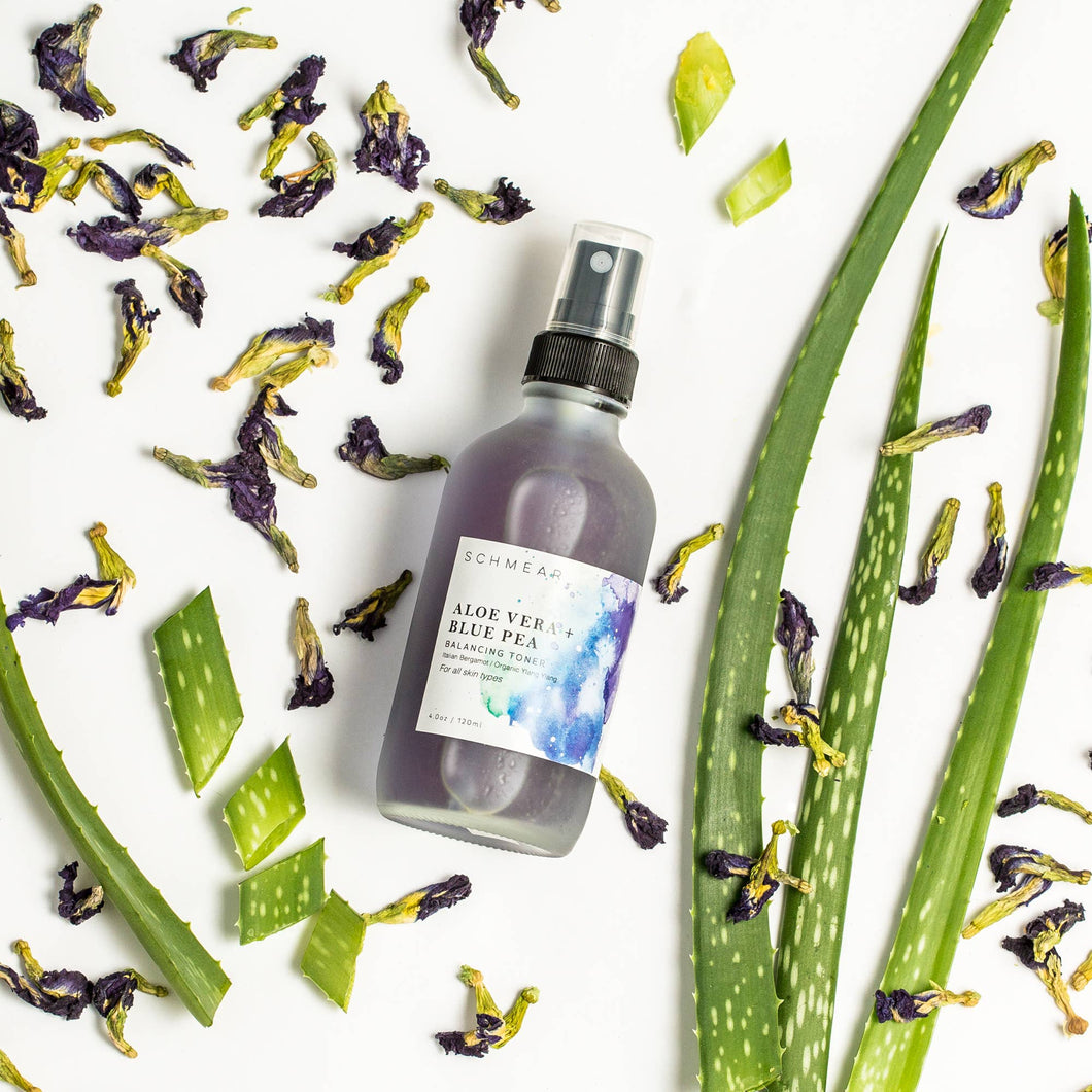 Aloe Vera & Blue Pea Balancing Toner | 120mL Spray
