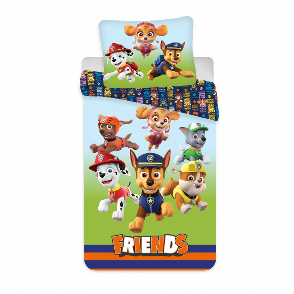 "Paw Patrol ""All Friends"" junior sengetøj"