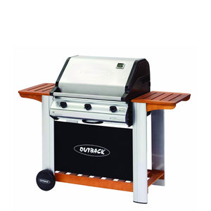 Barbacoa de gas Hunter inox plus