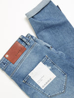 Lade das Bild in den Galerie-Viewer, REY JEANS - Straight/Slim Fit | RS1332 usedwashed