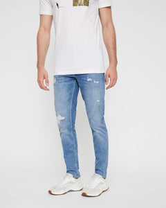 REY JEANS - Straight/Slim Fit | RS1332 usedwashed