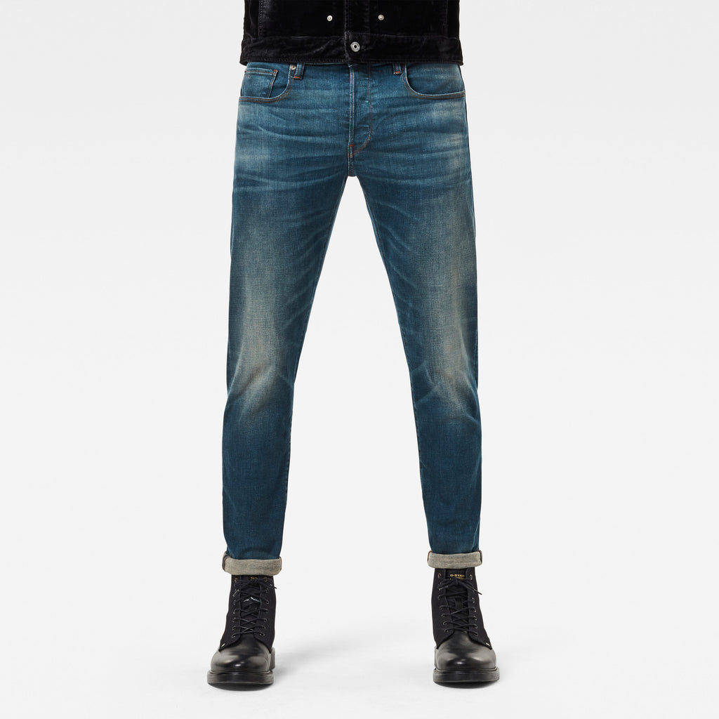 Yeans Halle G-Star 3301 Tapered medium aged
