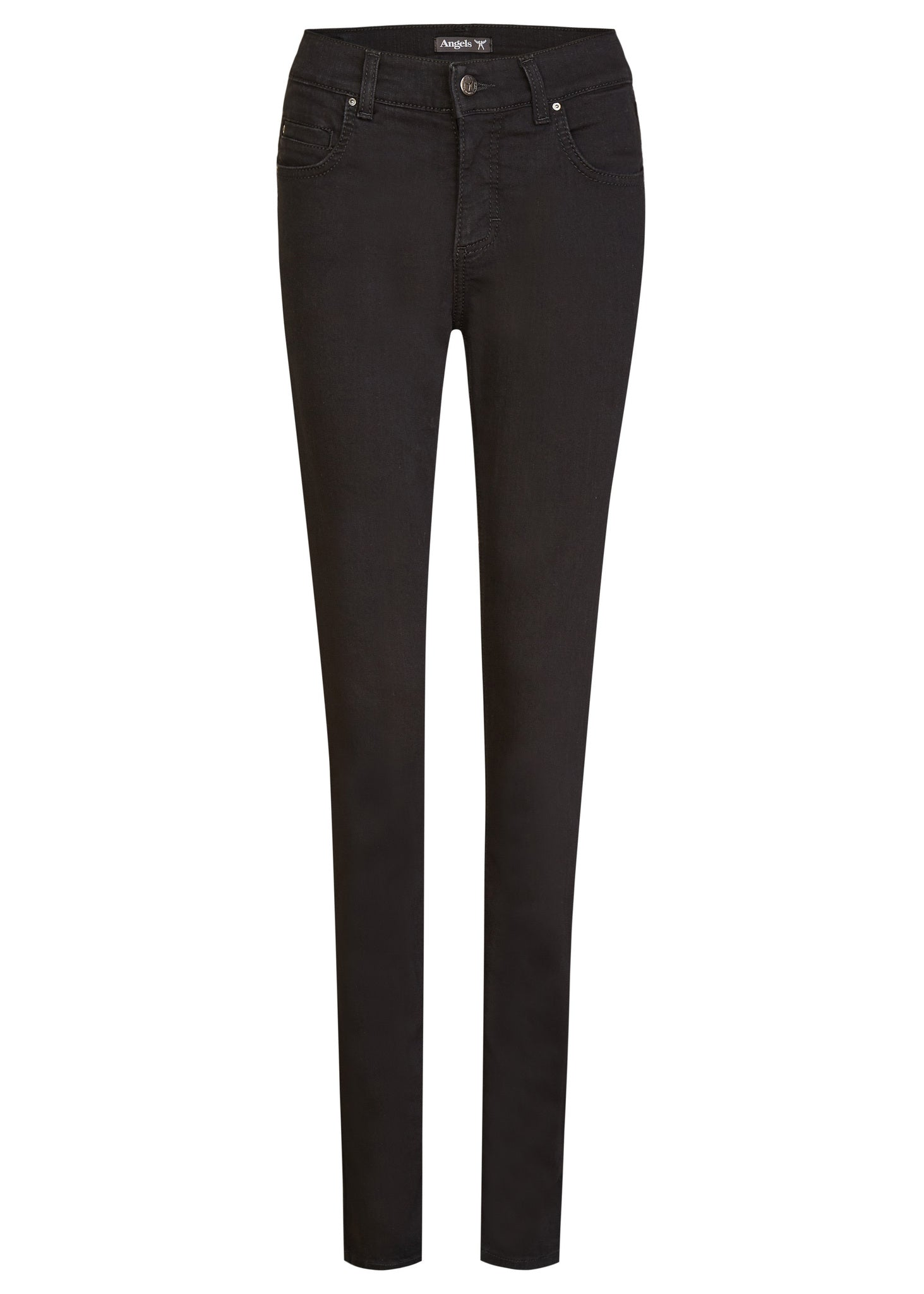 CICI Straight Slim Fit | jetblack