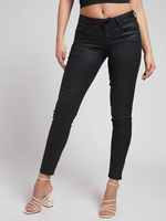 Lade das Bild in den Galerie-Viewer, Jeans Kunstleder - Skinny Fit | black