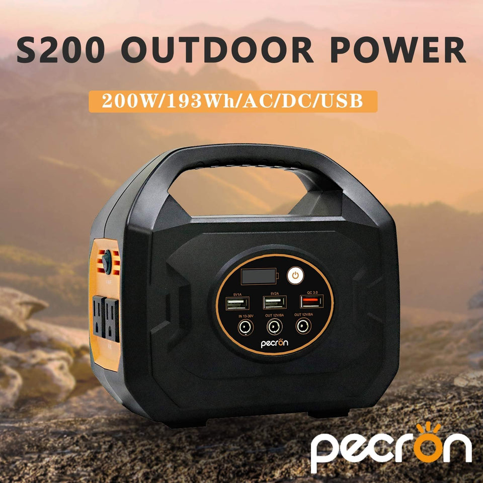 Pecron S200 193Wh(10.8V 17.85Ah) Portable Power Station