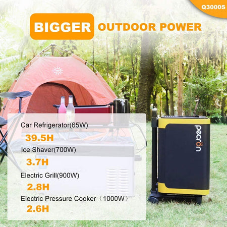 Pecron Q3000S portable power station