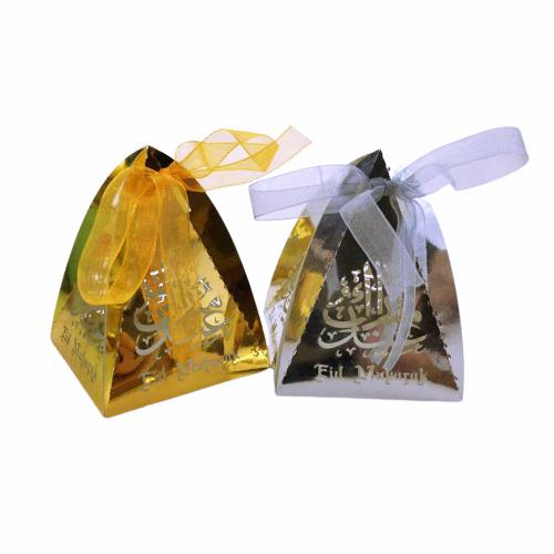 Eid Mubarak Mini Gift Box - Triangle