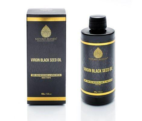 Raw Virgin Ethiopian Black Seed Oil (100ml)