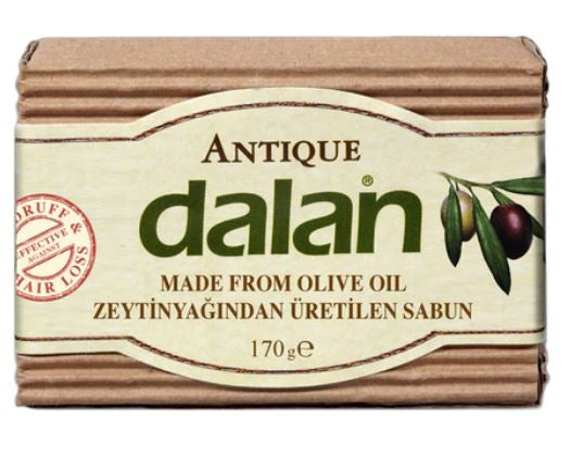Natural Handmade Olive Oil Soap Bar 170g x 2