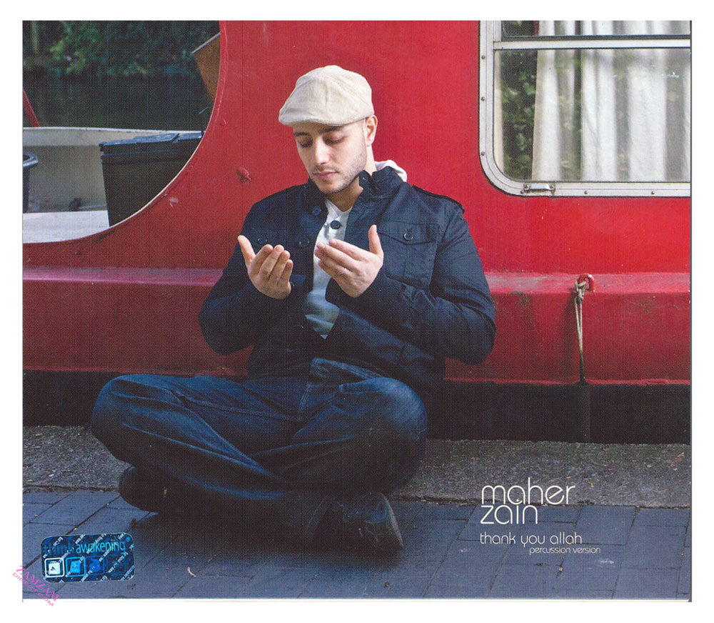 Thank you Allah By Maher Zain Audio CD MP3
