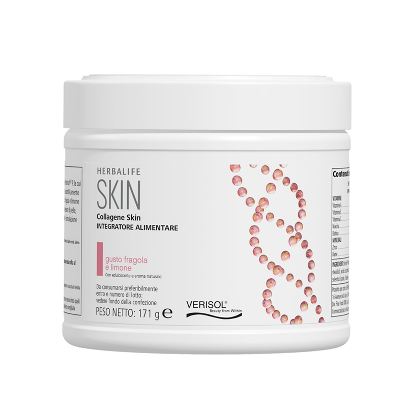 Collagen SKIN fragola e limone 171 g