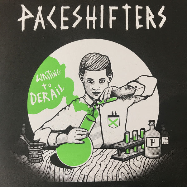 Paceshifters : Waiting To Derail (LP, Album, Num)