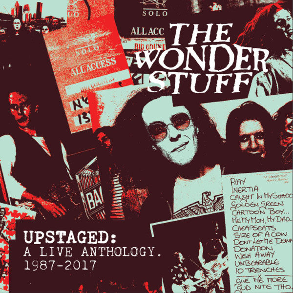 The Wonder Stuff : Upstaged: A Live Anthology. 1987-2016 (7xCD)