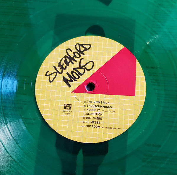 Sleaford Mods : Spare Ribs (LP, Ltd, Gre)