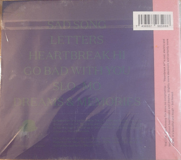 The LVE : Heartbreak Hi (CD, Dig)